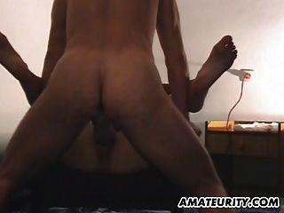 Amateur Girlfriend Sucks And Fucks With Cumshot