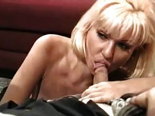 Blond Double Vaginal And Double Anal