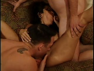 Steamy Bisexual Threesome Hard Core Fuck!