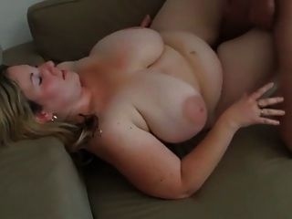 I Bend Over My Bbw Girlfriend Over To Fuck Her From Behind