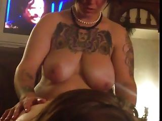 Bbw Being Fucked With Strap On