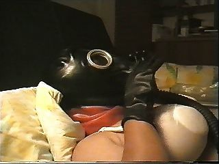 Good Latex Fuck With My Gasmask On