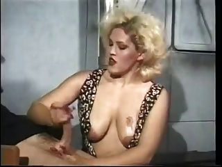 Big Tits Handjob With Oil