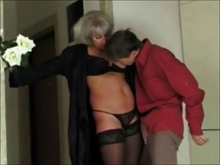 Sexy Beautiful Mom & Boy