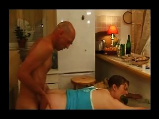 French Casting 14 Blonde Hairy Anal In A Kitchen
