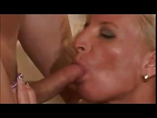 Blonde German Mature Well Fucked