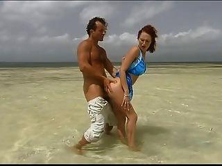 British Slut Donna Marie Gets Fucked In The Sea