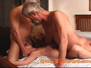 Granny Has A Teen Orgy