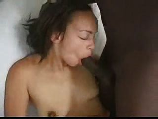Hot Interracial Creampie
