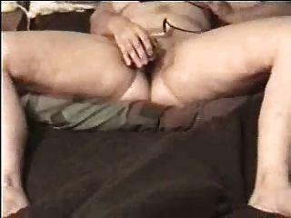 Orgasm Of Horny Granny. Amateur