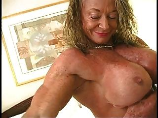 Bodybuilders lisa and wanda lesbian love part 2 9