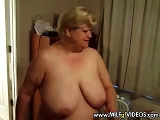Bbw Granny With Hanging Tits