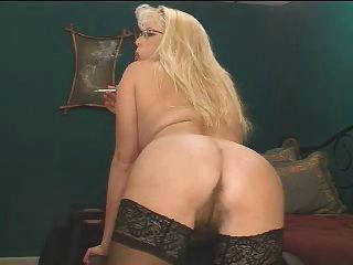 Smokig Fetish - Mature Blonde Smoking