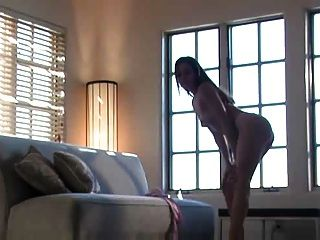 Renee Perez Stripping And Mastubating Her Self