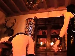 A Mistress Tortures Her House Slave