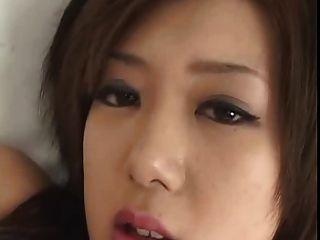 Japanese Cutie Megumi Ishikawa Masturbating