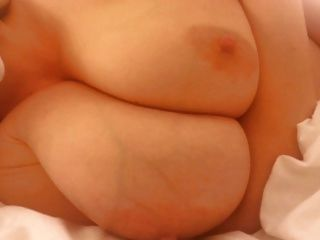 Slut Lateshay Big 36g White Saggy Floppy Tits
