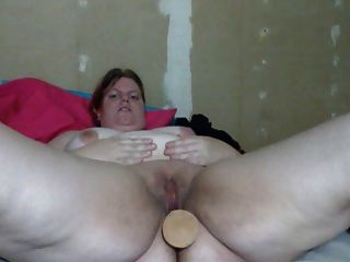 Big Woman Masturbating
