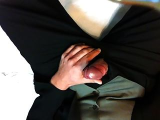 Stroke For You In Suit With Cumshot
