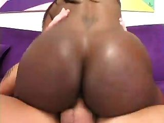 Ebony Girl Gets Assfucking Fuck And Cumshot