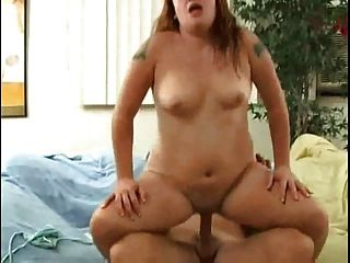 Horny Fat Bbw Gf Love Fucking And Riding Cock