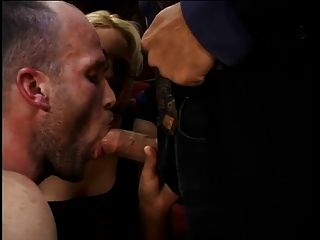 Femdom Babe And Husband Share Big Cock