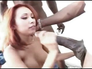 Huge Black Cock, All Over A Blonde.