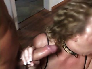 Blond Porn Slut Fucked By Two Guys