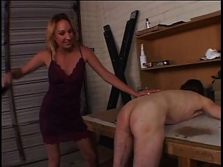 Guy Gets Banged By His Girl Using A Strap-on