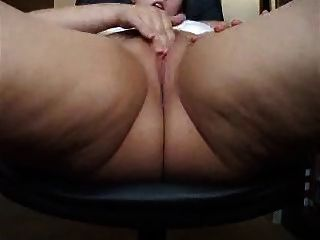 Mature Fatty Webcam Masturbation