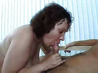 Horny Mature Does All