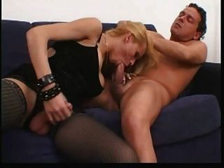 Leoporno Italian Shemale Girl Fucking On Sofa Part1