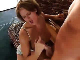 Busty Eve Plays With A Cock
