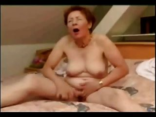 Great Masturbation Of Old Whore