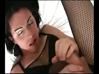 Danica Gives Herself A Facial