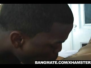 Blowing Big Black Dick As A Foreplay