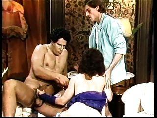 Vintage Orgy With Bunny Bleu & Tom Byron