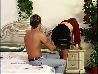 Russian Mature Viola Fucked By Young Guy