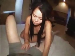 Asian Whore Fucks For Cash