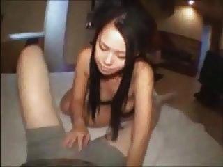 Asian Whore Fucks For Cash