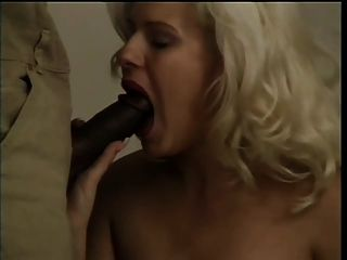 Blond Plays With Her Ass Then Sucks Bbc