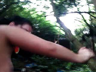 Me Fucking In Public Park
