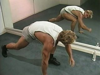 Francois Papillon In Weekend Workout (1987) Scene 1