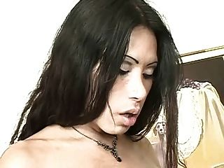 Beautiful Sex With A Busty Tranny