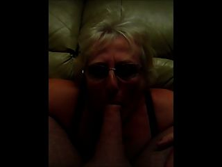 Claire Knight Huge Load Facial