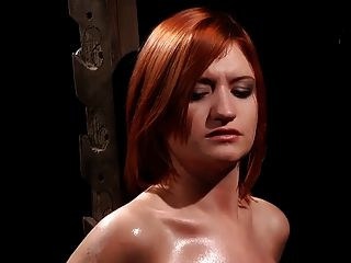 Very bdsm ebony princess on whipping post great