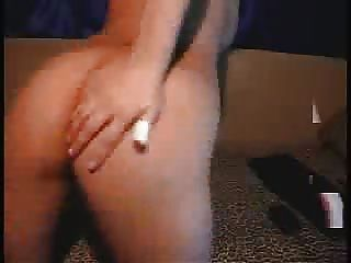 Busty Asian Girl Fingers Anal And Pussy
