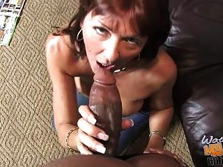 Busty Mature Mom Desi Foxx Used By 2 Blacks In Front Of Son