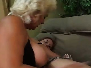 Mature Woman With Young Girl
