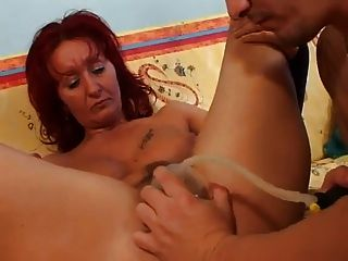 Milf Loves The Cock And Pussy Pump
